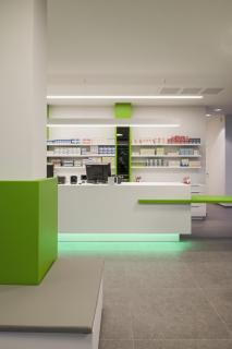 Toonbank apotheek