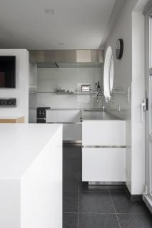 keuken wit inox
