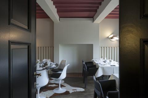 Restaurant ronde tafel