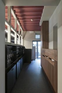 Doorgang keuken