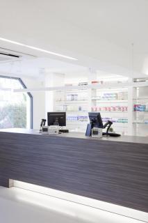 Moderne toonbank