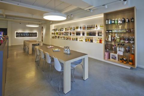 Tafel wijnhandel