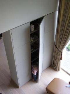 kast vloer plafond